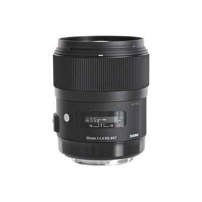 Sigma 35mm f/1.4 DG HSM Lens Nikon Fit