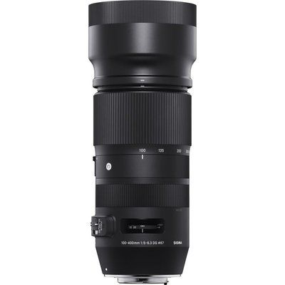 Sigma 100-400 mm f/5-6.3 DG OS HSM Telephoto Zoom Lens - for Canon