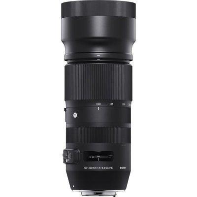 Sigma 100-400 mm f/5-6.3 DG OS HSM Telephoto Zoom Lens - for Nikon
