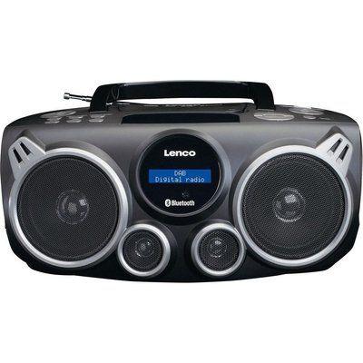 Lenco SCD-685 DAB Bluetooth Boombox - Black