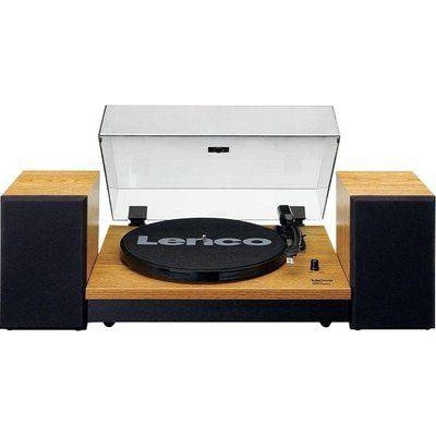 Lenco LS-300 Belt Drive Bluetooth Turntable - Wood