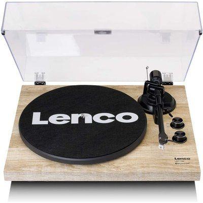 Lenco LBT-188 Belt Drive Bluetooth Turntable - Pine
