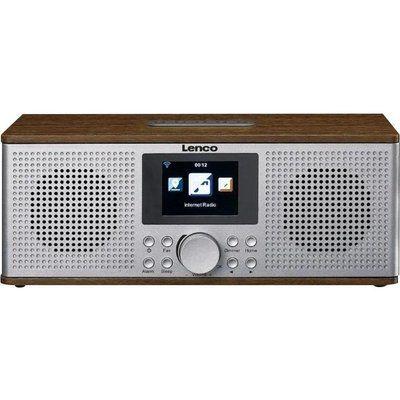 Lenco DIR-170 DAB Smart Bluetooth Radio - Grey & Wood
