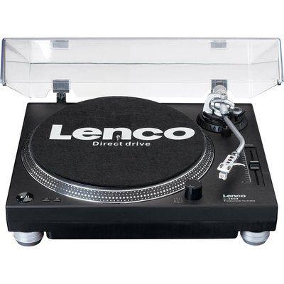 Lenco L-3809 Direct Drive Turntable - Black