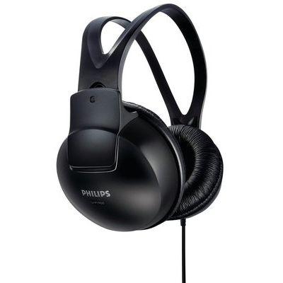 Philips SHP-1900 On-Ear Headphones - Black