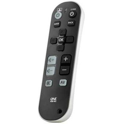 One For All Universal TV Zapper Remote Control