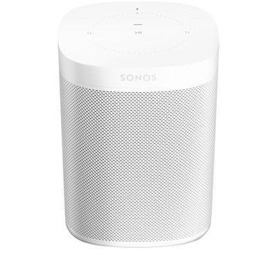 Sonos One Wireless Voice Controlled Speaker - White (Gen 2)