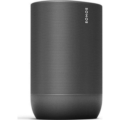Sonos Move Portable Wireless Multi-room Speaker with Google Assistant & Amazon Alexa - Black