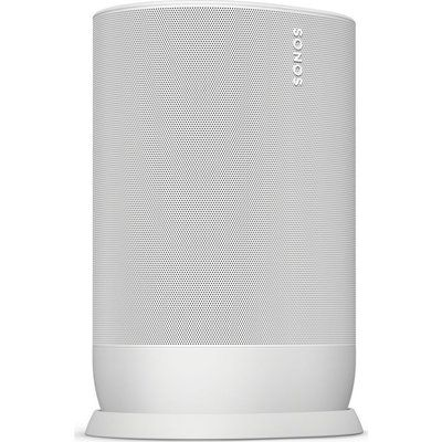 Sonos Move Portable Wireless Multi-room Speaker with Google Assistant & Amazon Alexa - White