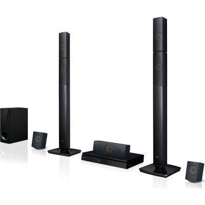 LG LHB645N 5.1 3D Blu-ray & DVD Home Cinema System