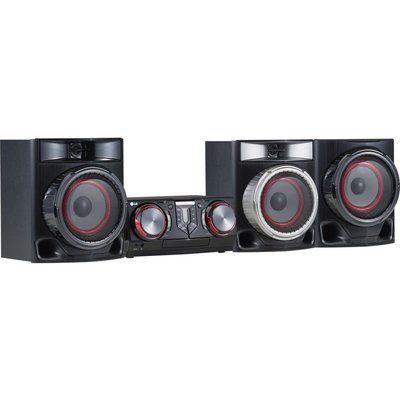 LG CJ45 Bluetooth Megasound Party Hi-Fi System - Black