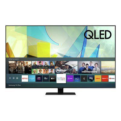 """Samsung 75"""" QE75Q80TATXXU Smart 4K Ultra HD HDR QLED TV with Bixby, Alexa & Google Assistant"""