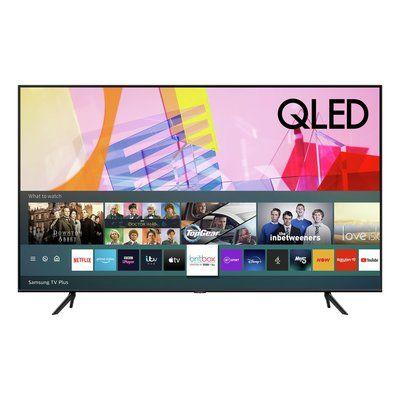 "Samsung QE43Q60TAUXXU 43"" Smart 4K Ultra HD HDR QLED TV with Bixby, Alexa & Google Assistant"