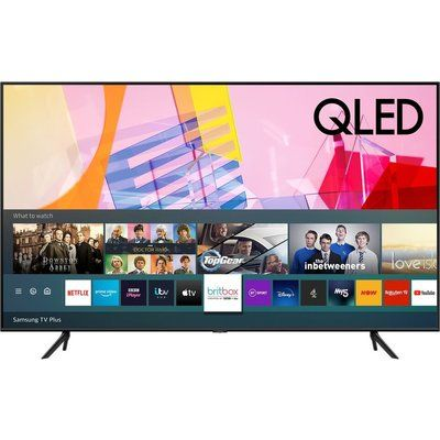 "Samsung 55"" QE55Q60TAUXXU Smart 4K Ultra HD HDR QLED TV with Bixby, Alexa & Google Assistant"