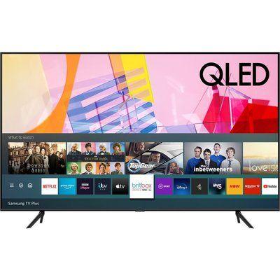 "Samsung 75"" QE75Q60TAUXXU Smart 4K Ultra HD HDR QLED TV with Bixby, Alexa & Google Assistant"