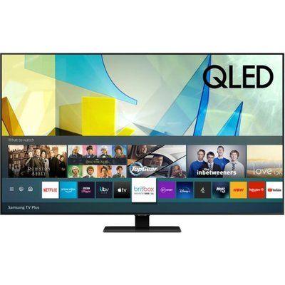 """Samsung 85"""" QE85Q80TATXXU Smart 4K Ultra HD HDR QLED TV with Bixby, Alexa & Google Assistant"""