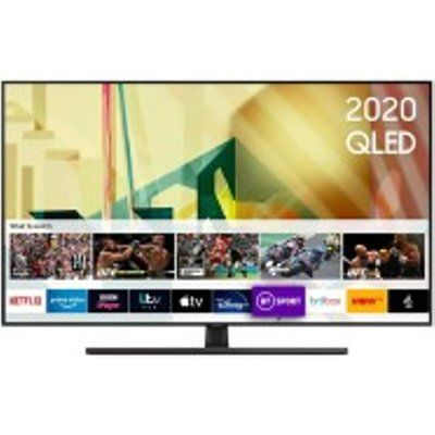 "Samsung QE75Q70T 75"" QLED 4K Quantum HDR Smart TV with Tizen OS"