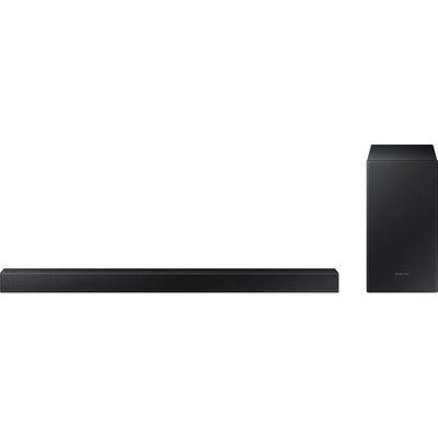 Samsung HW-T420 Bluetooth 2.1 Soundbar with Wired Subwoofer - Black