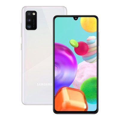 Samsung Galaxy A41 Smartphone in White