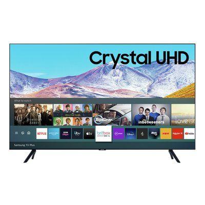 "Samsung UE82TU8000KXXU 82"" Smart 4K Ultra HD HDR LED TV with Bixby, Alexa & Google Assistant"