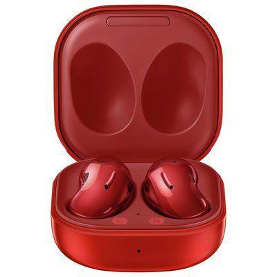 Samsung Galaxy Buds Live In-Ear True Wireless Headphones-Red