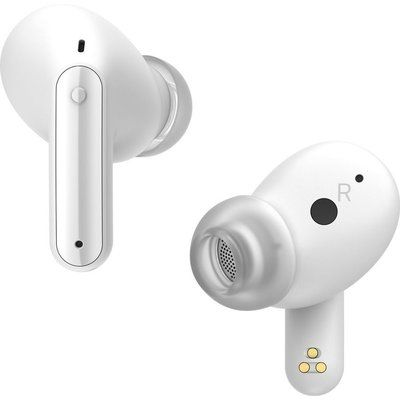 LG TONE Free UFP8 Wireless Bluetooth Noise-Cancelling Earbuds - White