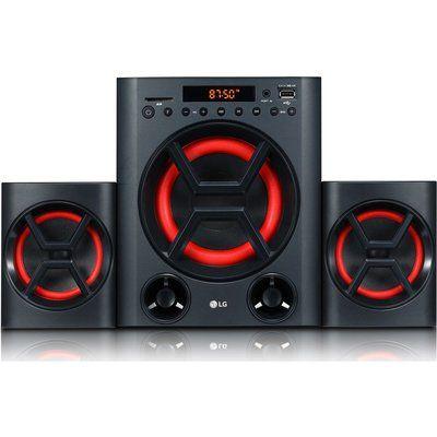 LG XBOOM LK72B Bluetooth Traditional Hi-Fi System - Black