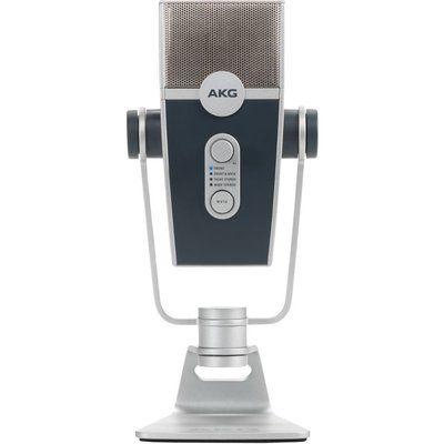 AKG Lyra Ultra-HD Multimode USB Microphone - Silver