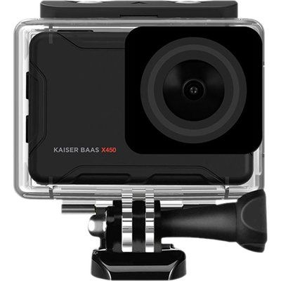 Kaiser Baas X450 4K Ultra HD Action Camera - Black