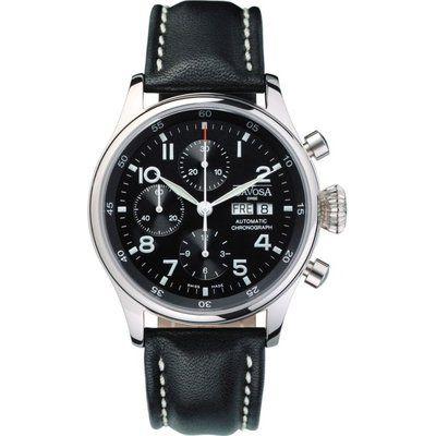 Mens Davosa Pilot Automatic Chronograph Watch 16100456