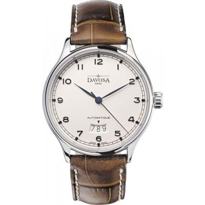 Mens Davosa Classic Triple Date Automatic Watch 16145616