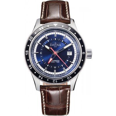 Mens Davosa World Traveller Automatic Watch 16150145